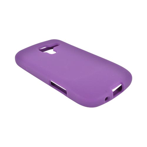 Samsung Exhilarate i577 Silicone Case - Purple