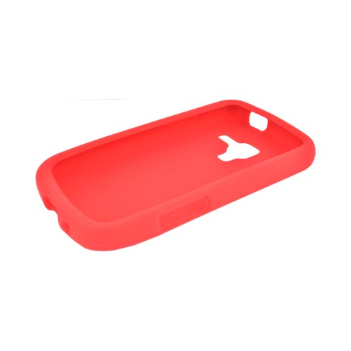 Samsung Exhilarate i577 Silicone Case - Red