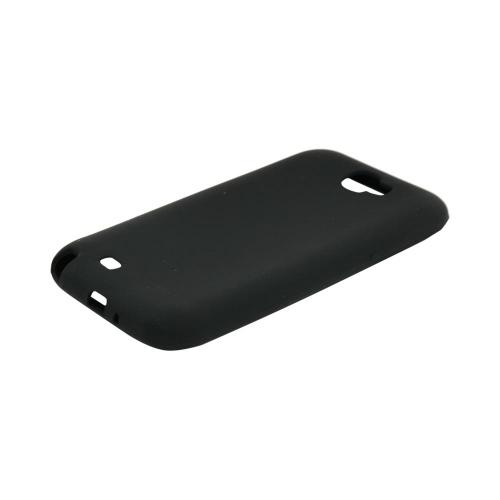 Samsung Galaxy Note 2 Silicone Case - Black