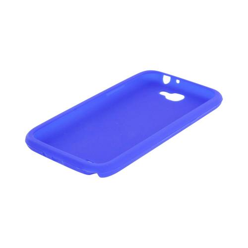 Samsung Galaxy Note 2 Silicone Case - Blue