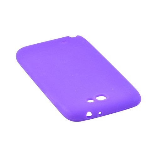 Samsung Galaxy Note 2 Silicone Case - Purple