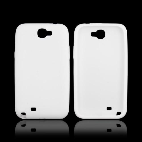 Samsung Galaxy Note 2 Silicone Case - White