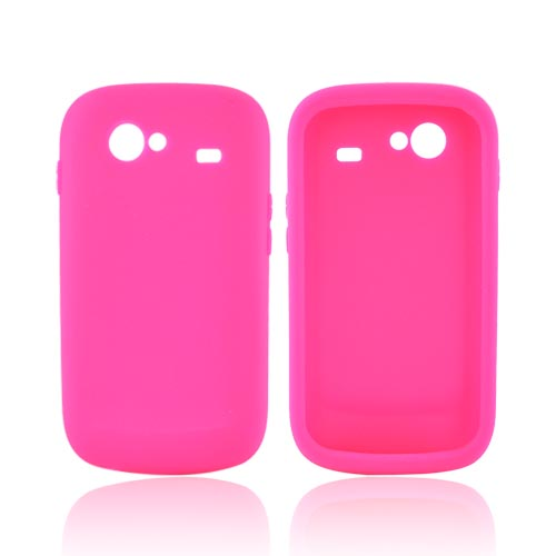 Google Nexus S Silicone Case - Hot Pink