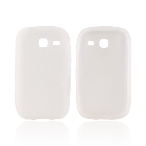 Samsung Freeform 3 Silicone Case - Frost White