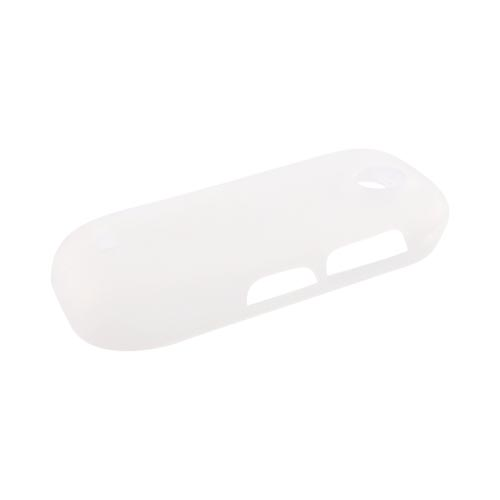 Samsung R710 Suede Silicone Case - Frost White