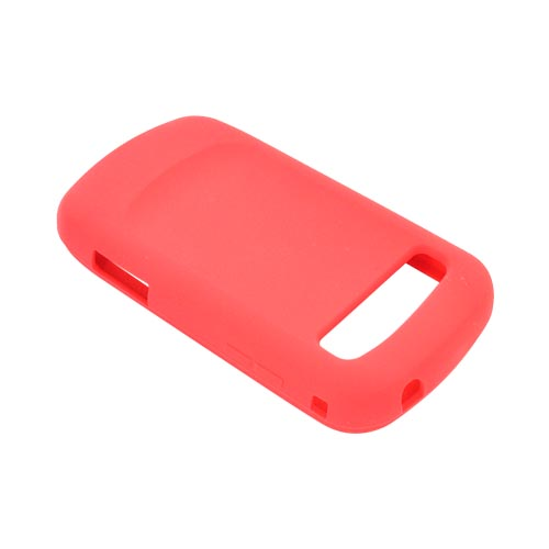 Samsung Rookie R720 Silicone Case - Red
