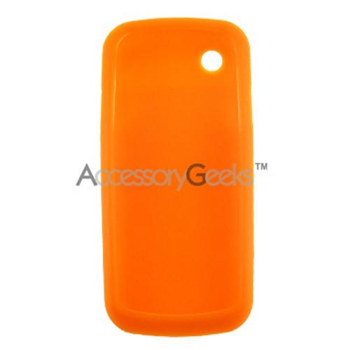 Samsung T349 Silicone Case, Rubber Skin - Orange