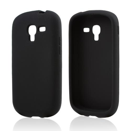 Black Silicone Skin Case for Samsung Galaxy Exhibit