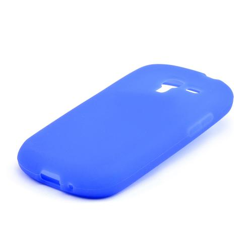 Blue Silicone Skin Case for Samsung Galaxy Exhibit