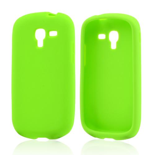 Neon Green Silicone Skin Case for Samsung Galaxy Exhibit