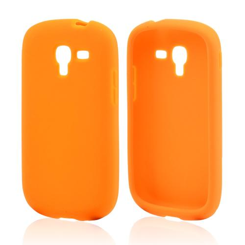 Orange Silicone Skin Case for Samsung Galaxy Exhibit