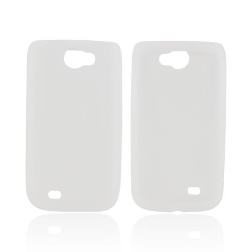 Samsung Exhibit 2 4G Silicone Case - Frost White