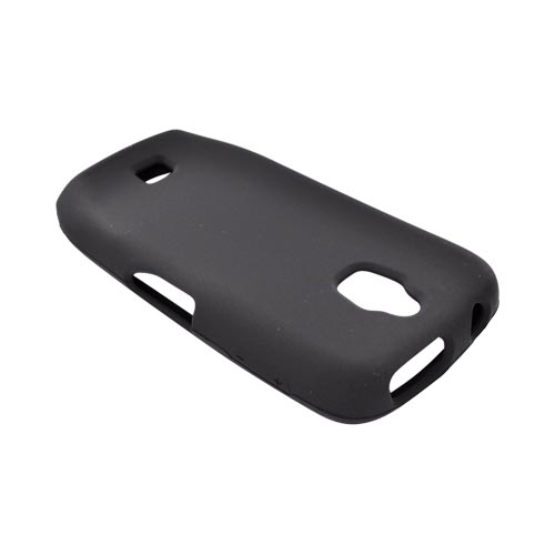 Samsung Exhibit T759 Silicone Case - Black