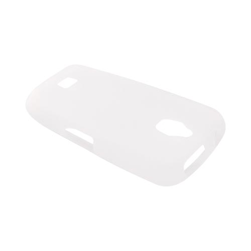 Samsung Exhibit T759 Silicone Case - Frost White