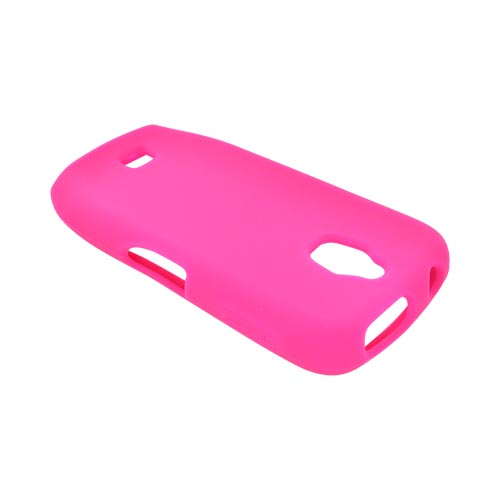 Samsung Exhibit T759 Silicone Case - Hot Pink