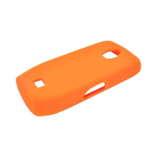 Samsung Exhibit T759 Silicone Case - Orange