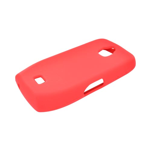 Samsung Exhibit T759 Silicone Case - Red
