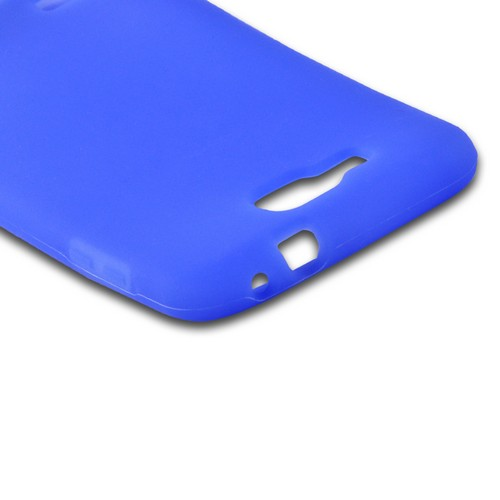 Blue Silicone Case for Samsung ATIV S T899