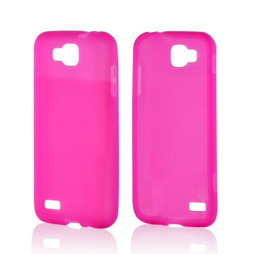 Hot Pink Silicone Case for Samsung ATIV S T899