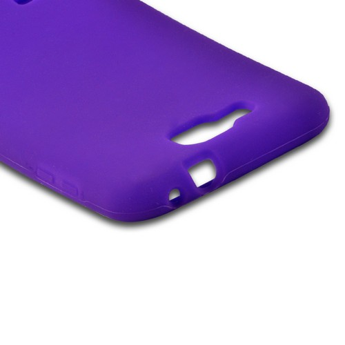 Purple Silicone Case for Samsung ATIV S T899