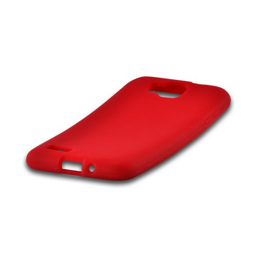 Red Silicone Case for Samsung ATIV S T899