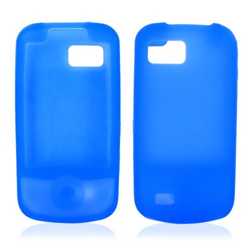 Samsung Behold 2 T939 Silicone Case, Rubber Skin - Blue
