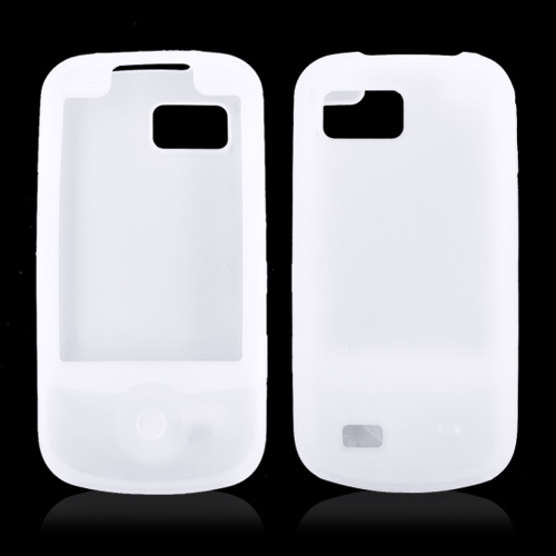 Samsung Behold 2 T939 Silicone Case, Rubber Skin - Frost White