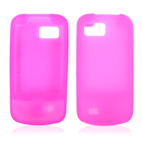 Samsung Behold 2 T939 Silicone Case, Rubber Skin - Hot Pink