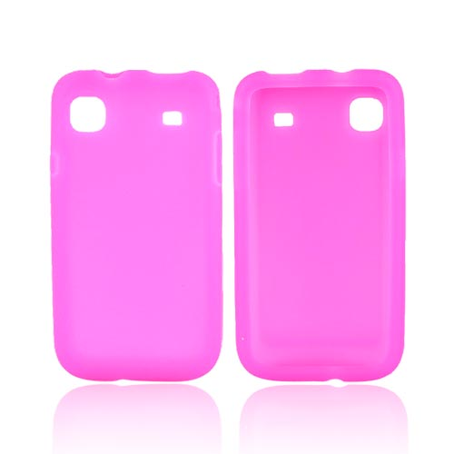 Samsung Galaxy S 4G / Vibrant Silicone case- Hot Pink