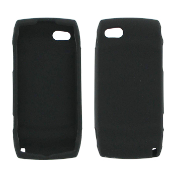 T-Mobile Sidekick LX 2009 Silicone Case, Rubber Skin - Black