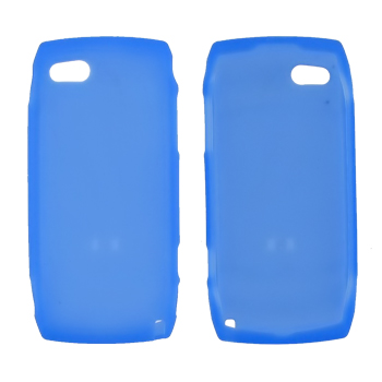 T-Mobile Sidekick LX 2009 Silicone Case, Rubber Skin - Blue
