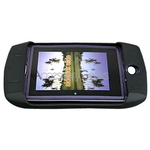 SideKick Slide Rubber Silicone Skin Skin Case - Black