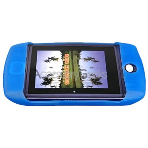 SideKick Slide Rubber Silicone Skin Skin Case - Blue