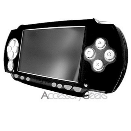 Sony PSP Slim silicone case, rubber skin - Black
