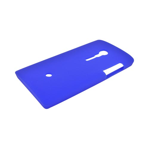 Sony Xperia Ion T28i Silicone Case - Blue