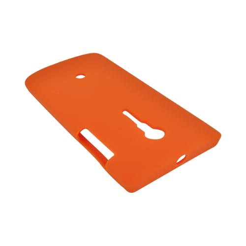 Sony Xperia Ion T28i Silicone Case - Orange