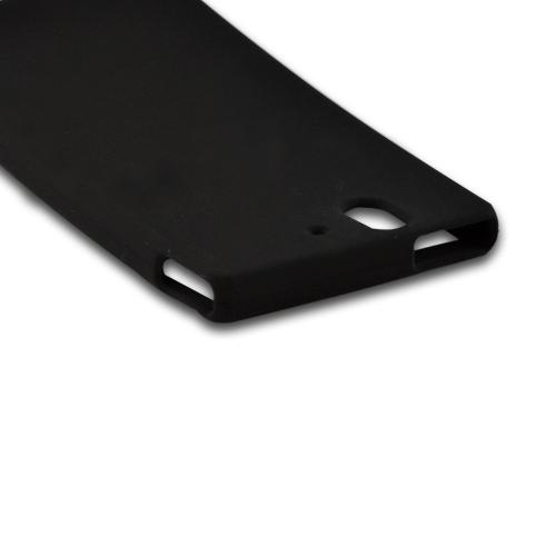 Black Silicone Case for Sony Xperia Z