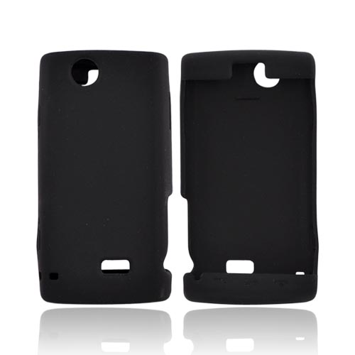Sharp FX Silicone Case, Rubber Skin - Black
