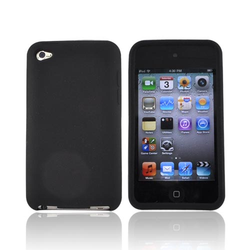 Luxmo Apple iPod Touch 4 Silicone Case - Black
