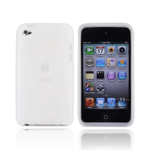 Luxmo Apple iPod Touch 4 Silicone Case - Frost White