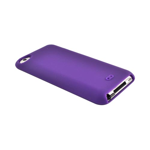 Apple iPod Touch 4 Silicone Case - Purple