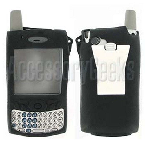 Palm Treo 650 Black SiliconeCase