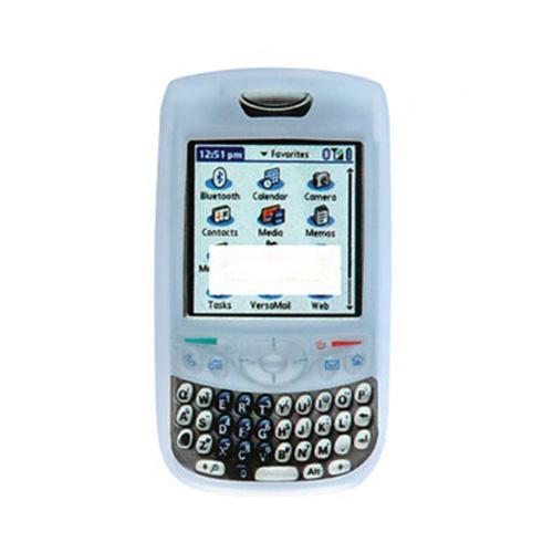 Palm Treo 680/750 silicone case, rubber skin - Light Blue