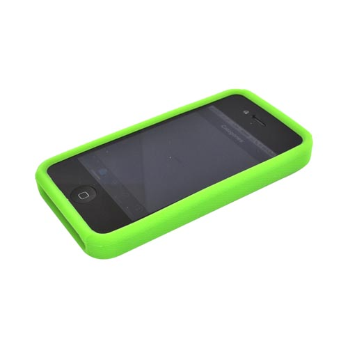 Apple Verizon/ AT&T iPhone 4, iPhone 4S Silicone Case - Green