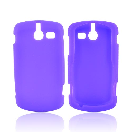 ZTE TXTM8 3G A410 Silicone Case - Purple