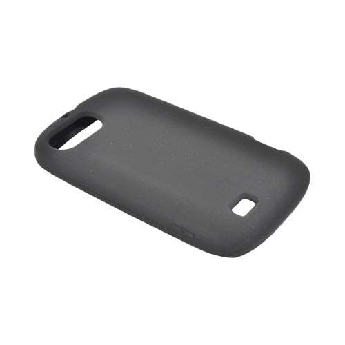 ZTE Fury N850 Silicone Case - Black