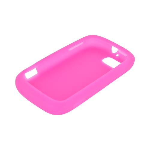ZTE Fury N850 Silicone Case - Hot Pink