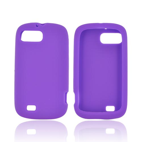 ZTE Fury N850 Silicone Case - Purple