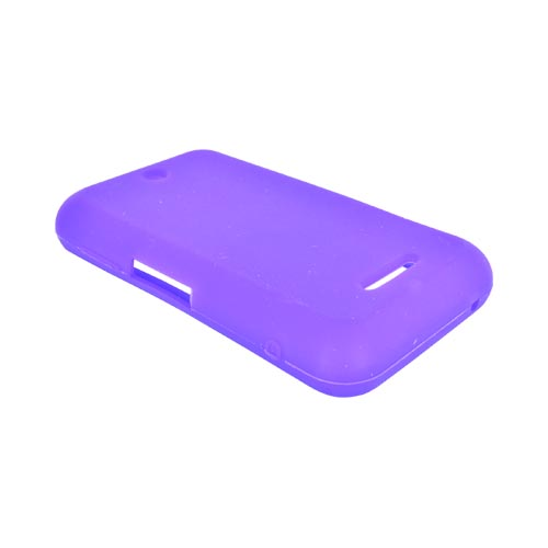 ZTE Score X500 Silicone Case - Purple