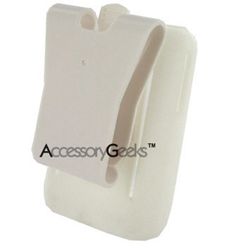 Creative Zen V Silicone Case w/ Belt Clip - White
